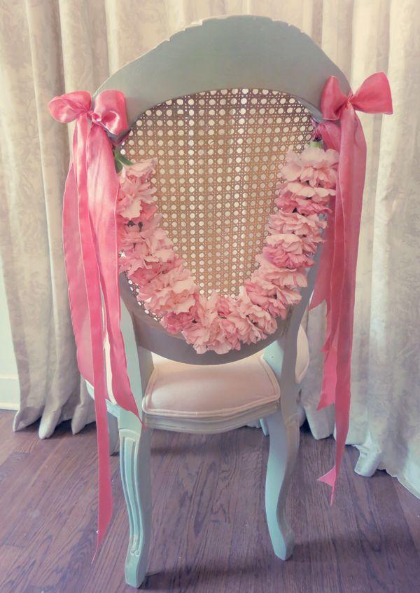 DIY Carnation garlands