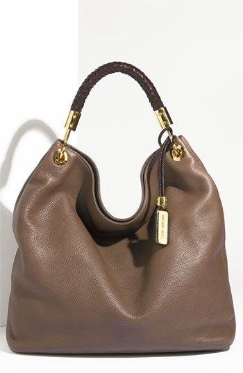 michael kors leather hobo handbags bags pinterest. Black Bedroom Furniture Sets. Home Design Ideas
