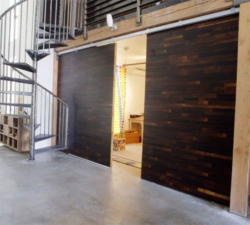 Sliding Barn Door And Wall From Cliff Spencer