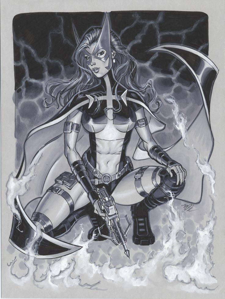 Batgirls 2 Huntress by Michael Dooney