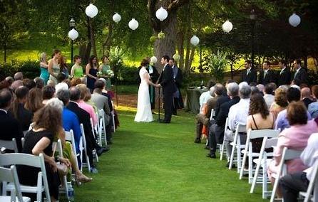 Outdoor wedding with paper lanterns wedding pinterest