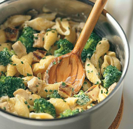 Mac and Cheese with Chicken and Broccoli | Food | Pinterest
