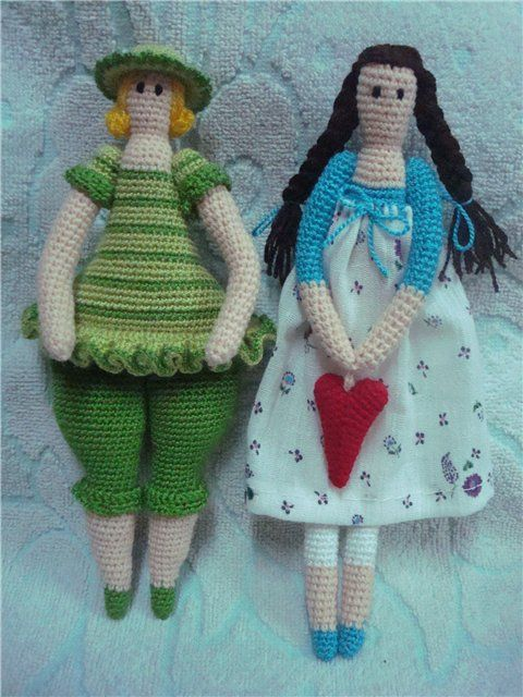Knitting Pattern To Make A Doll : knitted doll pattern Amigurumi & other Toys Pinterest