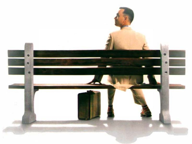 Life is like a box of chocolates. You never know what ya gonna get.