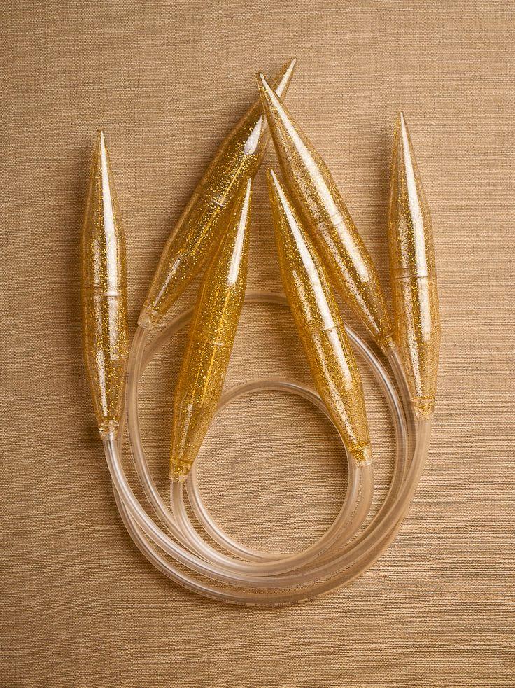 Knitting On Circular Needles Too Long : Addi big stitch circular needles from skacel these extra
