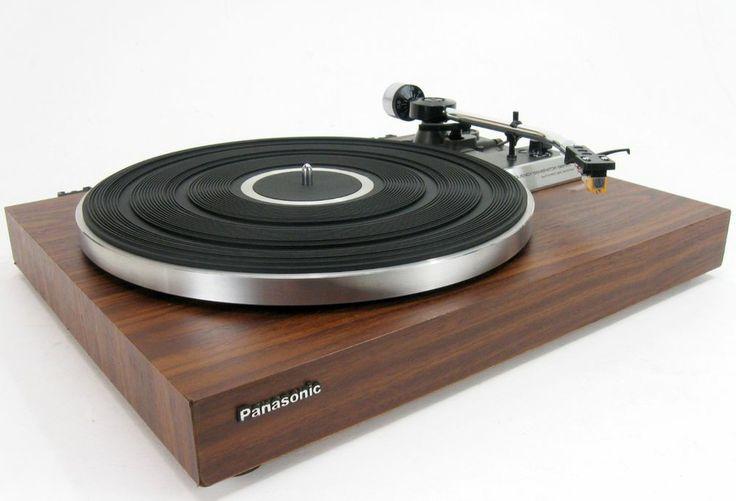 panasonic technics rd 3500 dc servo turntable w audio technica cart. Black Bedroom Furniture Sets. Home Design Ideas