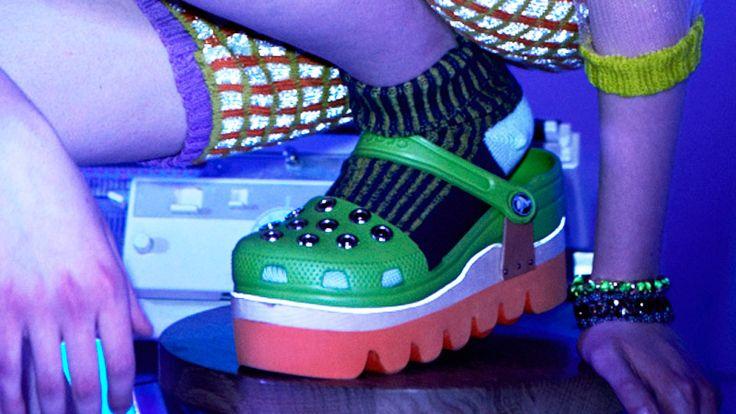 First Look: Designer Lindsay Degen Makes Crocs Look Cool for Fall2014