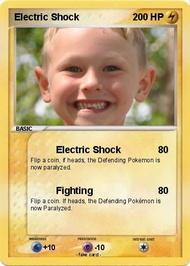 Make your own pokemon cards for party guests