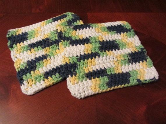 Crocheting Hotpads : Crocheted hotpads/dishrags Crochet Pinterest