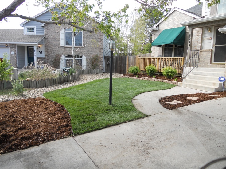 Xeriscaped Backyard Design : Xeriscaped Front Yard  Gardening Ideas  Pinterest