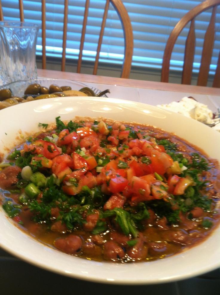 Fool mediterranean food egyptian food pinterest for Mediterranean cooking