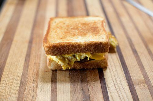 Cowboy Breakfast Sandwiches | Recipe