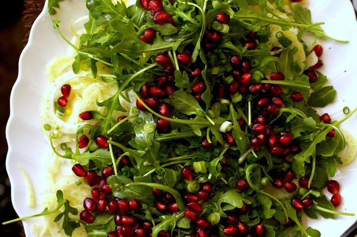 Fennel, Prosciutto and Pomegranate Salad | Salads | Pinterest