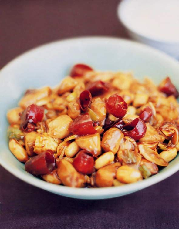 Gong Bao Chicken With Peanuts #chinese #chinesecooking