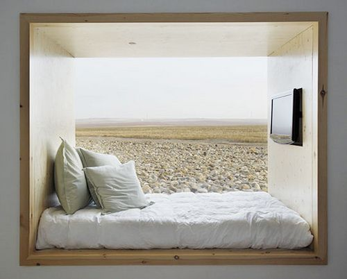 Window bed - Hotel Aire de Bardenas in Spain by ooh_food, via Flickr