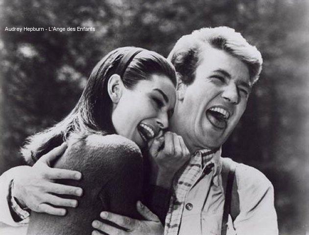 Audrey Hepburn and Alb...