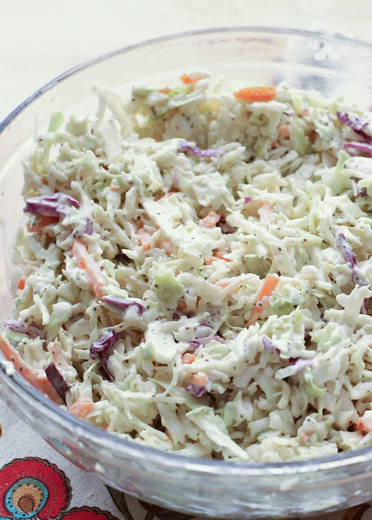 Classic Memphis-Style Southern Coleslaw recipe by Barefeet In The ...