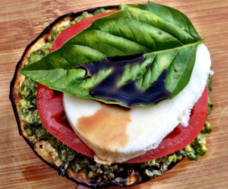 eggplant caprese stacks | Favorite Recipes | Pinterest