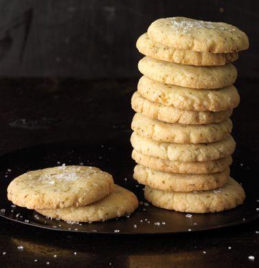 Lemon-Lime Basil Shortbread Cookies | Recipe