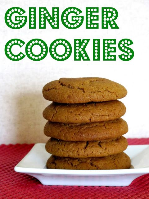 The Granola Chronicles: Soft Ginger Cookies