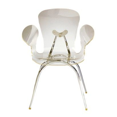 Lumisource Acrylic Dining Chair Clear