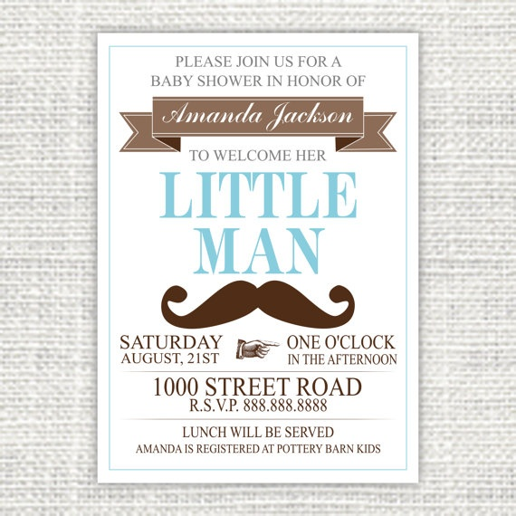 printable mustache baby shower invitation by hankandpetunia
