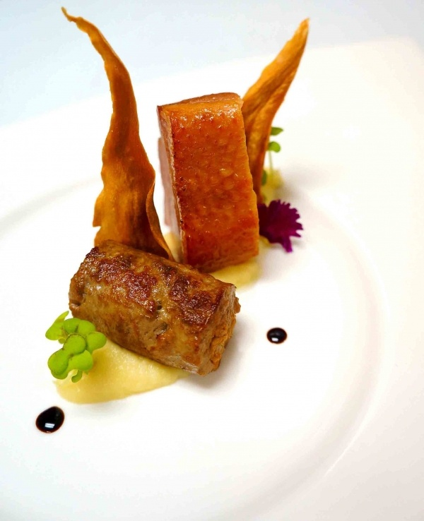 LAMB MERGUEZ | smoked duck | parsnip | food | Pinterest