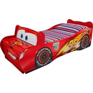 Cars 2 Lightning McQueen Toddler Bed  ck crafts  Pinterest