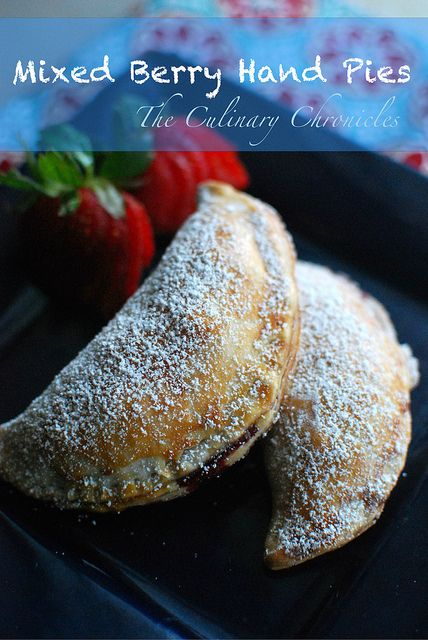 Mixed Berry Hand Pies by The Culinary Chronicles, via Flickr