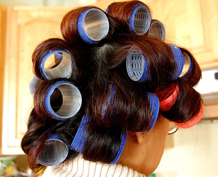 Hair Roller : wikiHow to Wet Set Hair Rollers