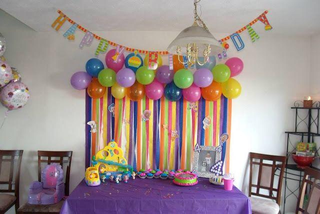Balloon streamer backdrop katie needs pinterest for How to make a balloon and streamer backdrop