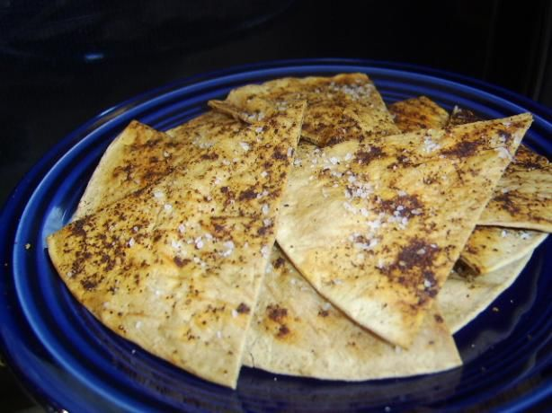 ... substitute pita bread for pita chips or corn tortillas for corn chips