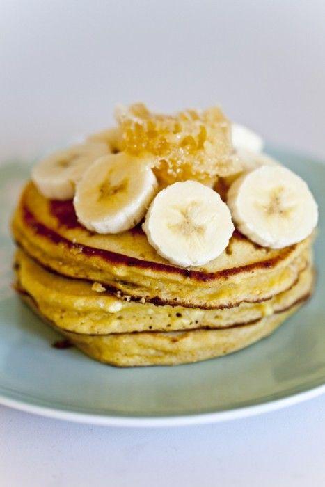 banana pancakes | FOOD: SWEET. | Pinterest