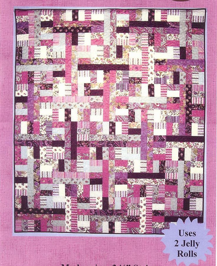 Free Jelly Roll Quilt Patterns For Beginners Cafca Info For