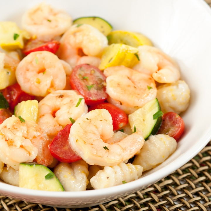 Recipe for Gnocchi with Island Lime Shrimp & Summer Vegetables from ...