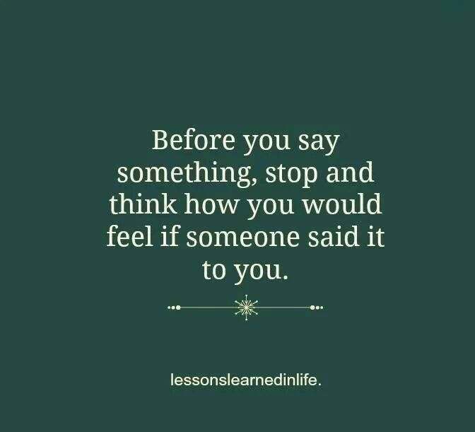 Think before you say it fitness motivation pinterest
