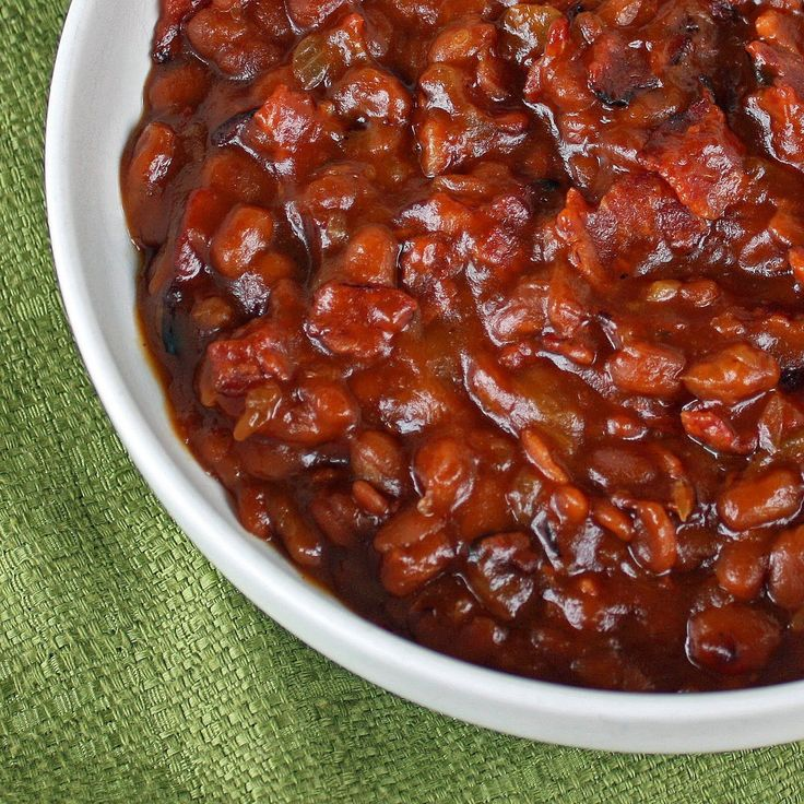 Heidi's Famous Baked Beans - The Girl Who Ate Everything... These look ...
