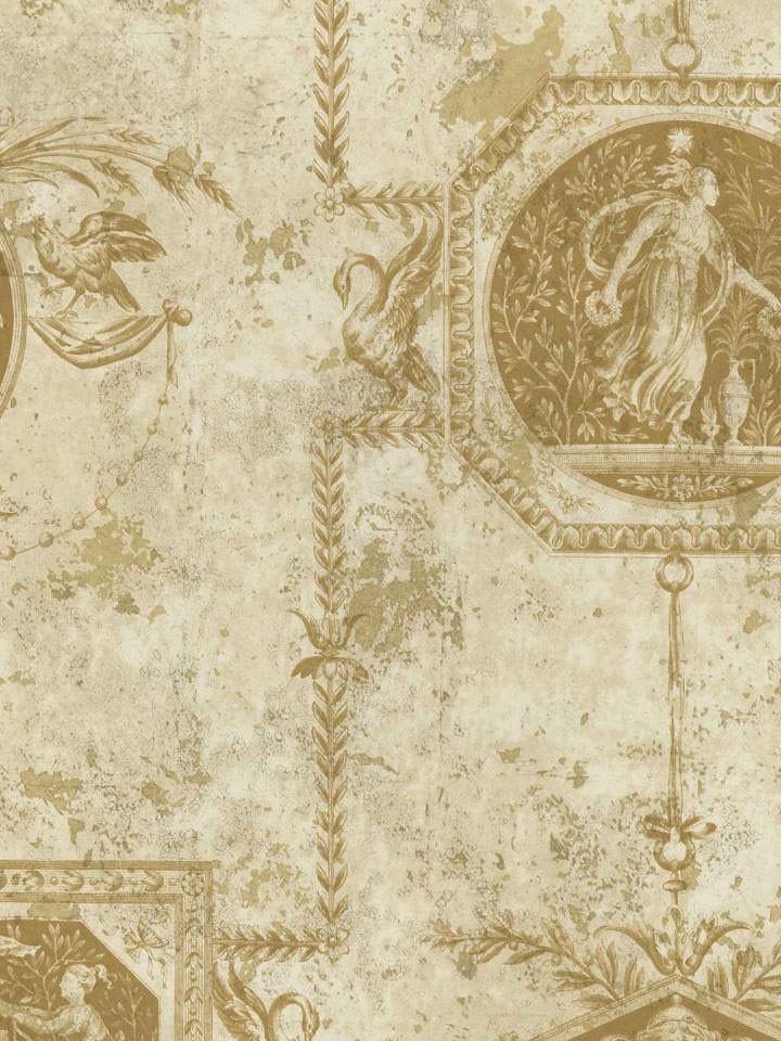 Interior Place - Beige Scenic Bird Toile Wallpaper, $29.99 (http://www.interiorplace.com/beige-scenic-bird-toile-wallpaper/)