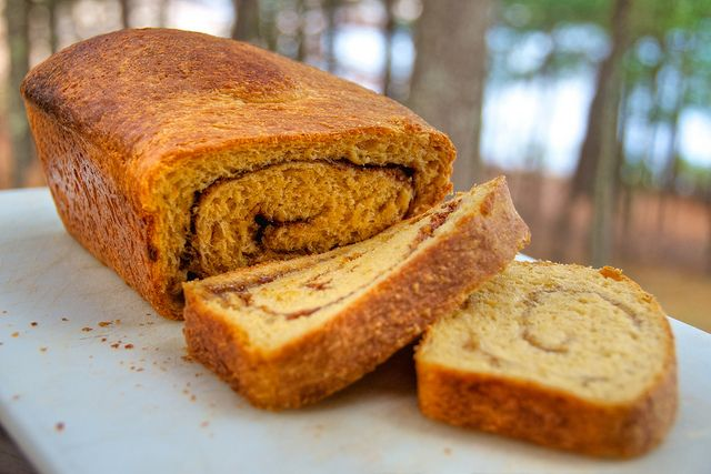 Cinnamon Swirl Sweet Potato Bread | Bake | Pinterest