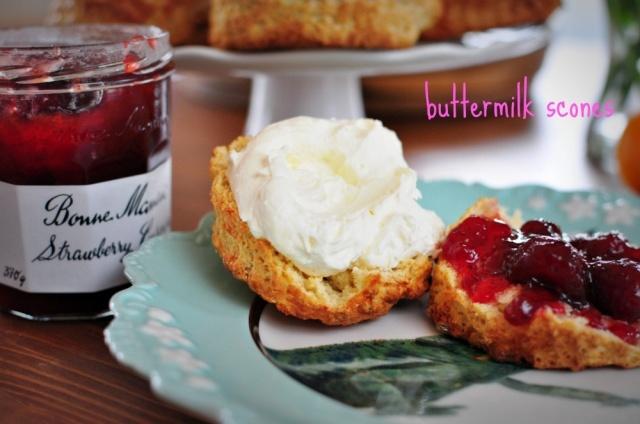 Buttermilk Scones | Dreamy Food | Pinterest