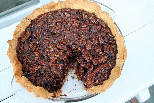 vegan chocolate bourbon pecan pie. | yum. | Pinterest