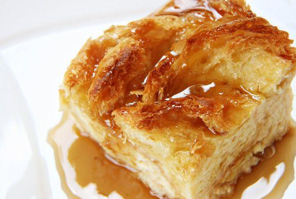 Croissant Bread Pudding | Eat it BREAKFAST | Pinterest
