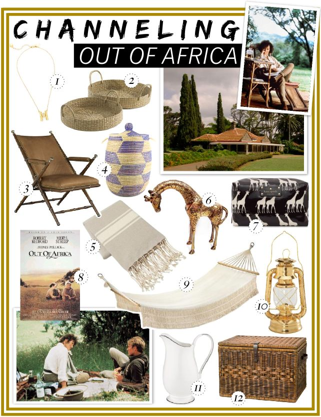 Safari Tapete Out Of Africa : Out of Africa Decorating Style