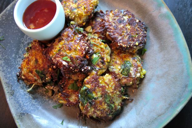 squash and feta fritters | Veggie Recipes ..good stuff not just boile ...