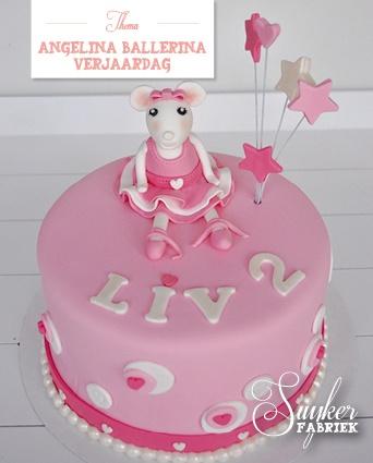 Angelina Ballerina Cake  Angelina Ballerina Birthday Party Ideas  P ...