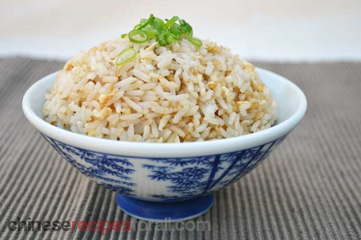Egg Fried Rice - Chinese Recipes for All | Rice | Pinterest