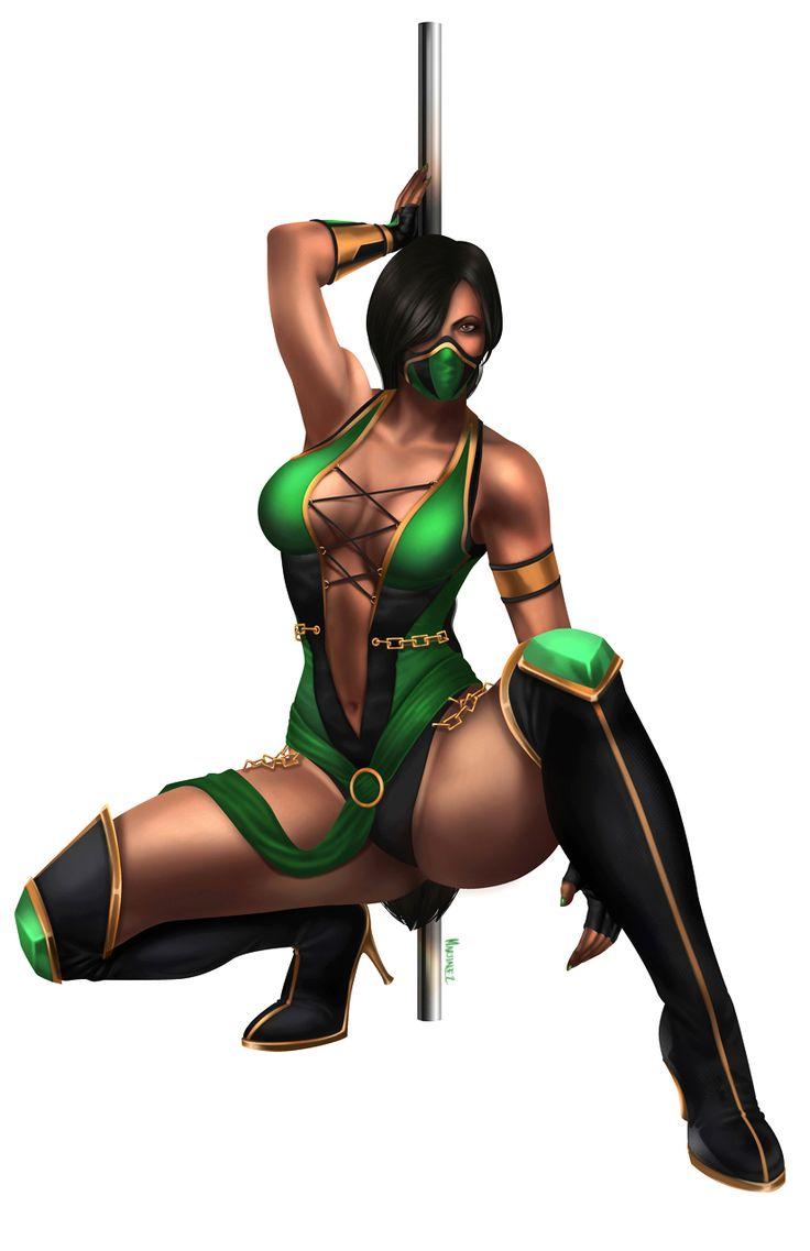 Naughty jade mortal kombat hentai photo