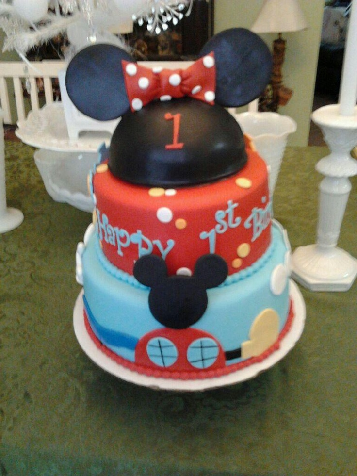My Niece s 1st Birthday Cake :) VeroniCakes of ...