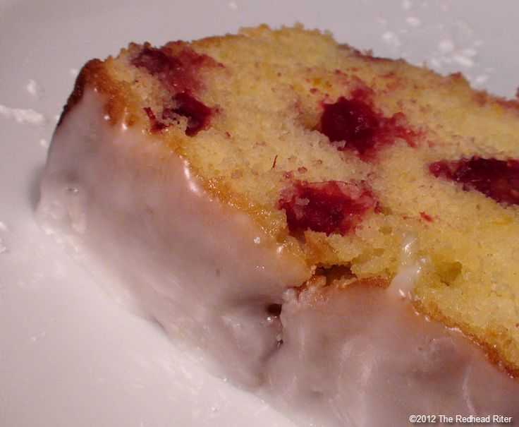 Cranberry Lemon Cake with Lemon Glaze – Moist, Delicious And ...