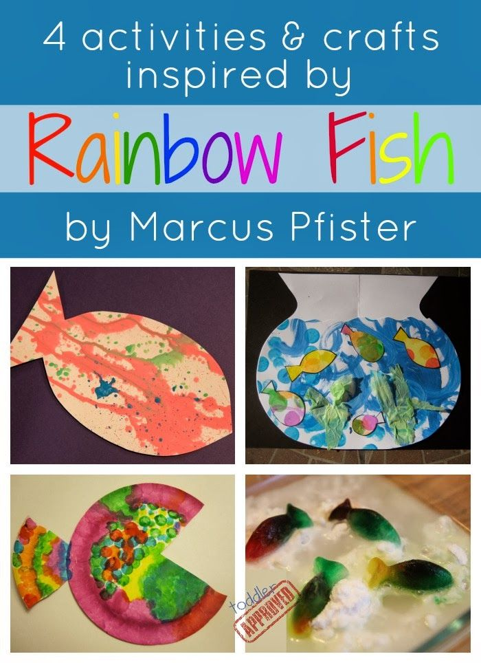 Pin by kristina toddler approved on toddler approved for Rainbow fish activities